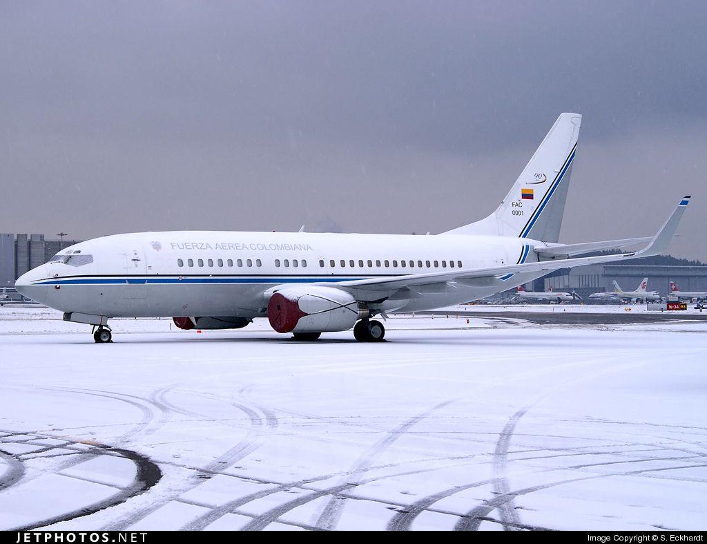 Boeing 737 74v Bbj Avión Presidencial De Colombia Aviones