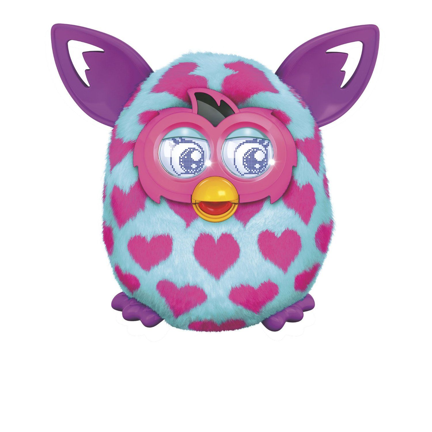 Your Furby Boom Responds To You Changes Personalities Based On How You Treat It Dances To Music Talks To Other Furby Boom Crea Furby Boom Furby Heart Plush