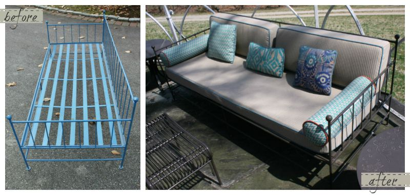 Dilwyne Designs Homage To An Heirloom Patio Furniture Redo Photo