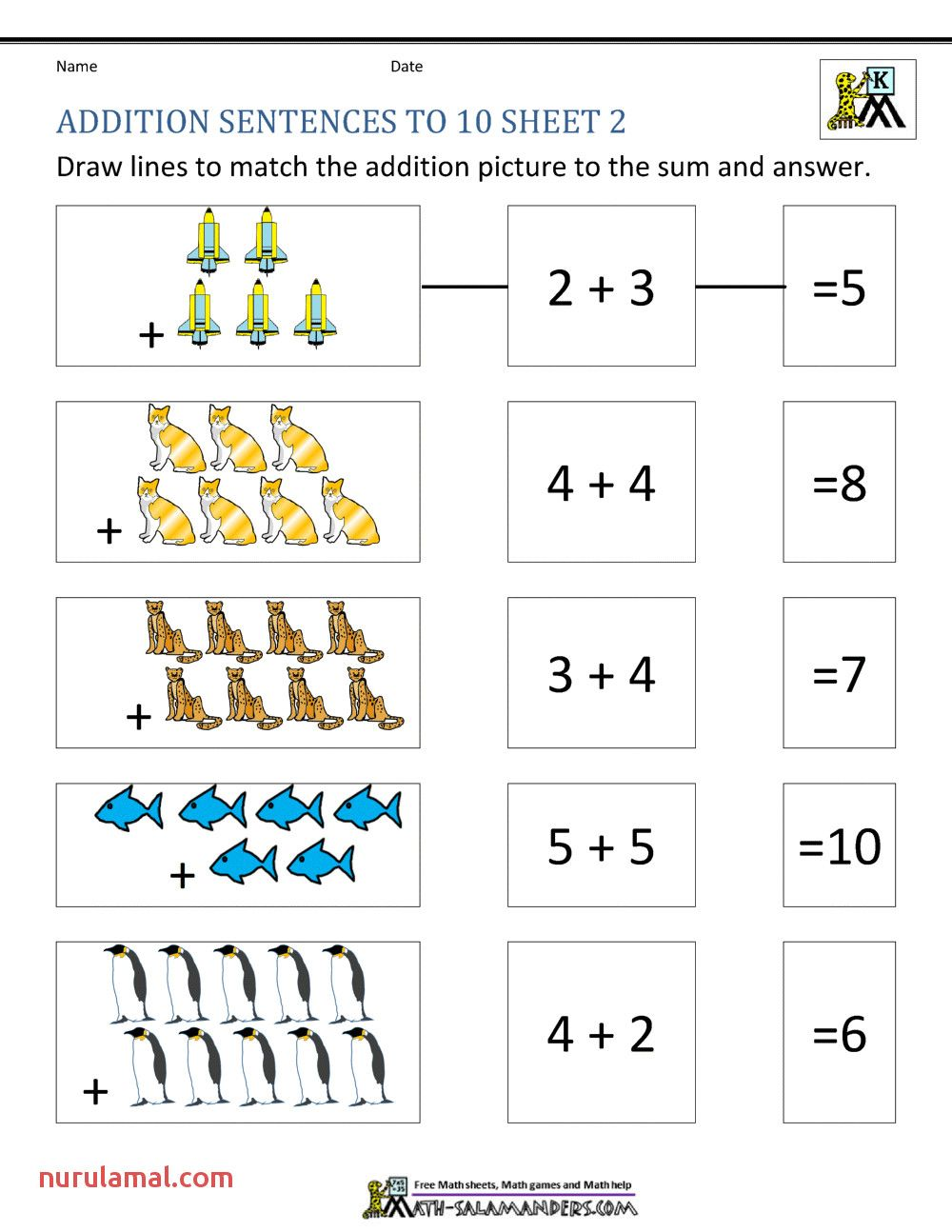Pin on Preschool Addition
