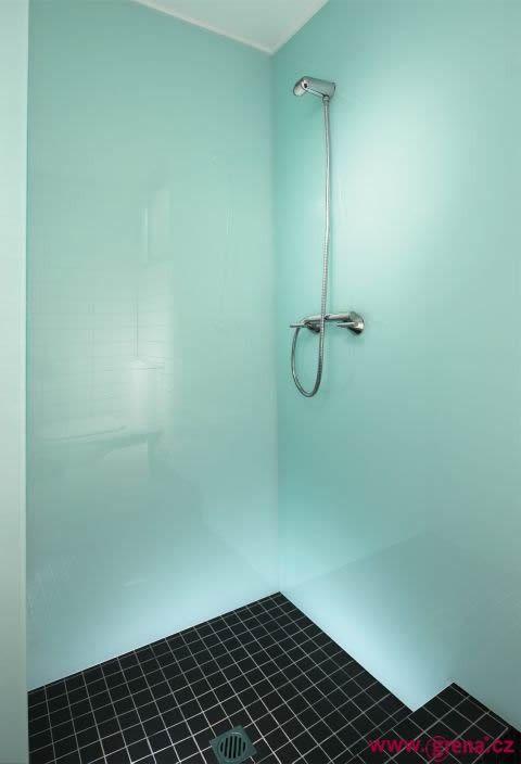 High Gloss Shower Panels Ideas Wall