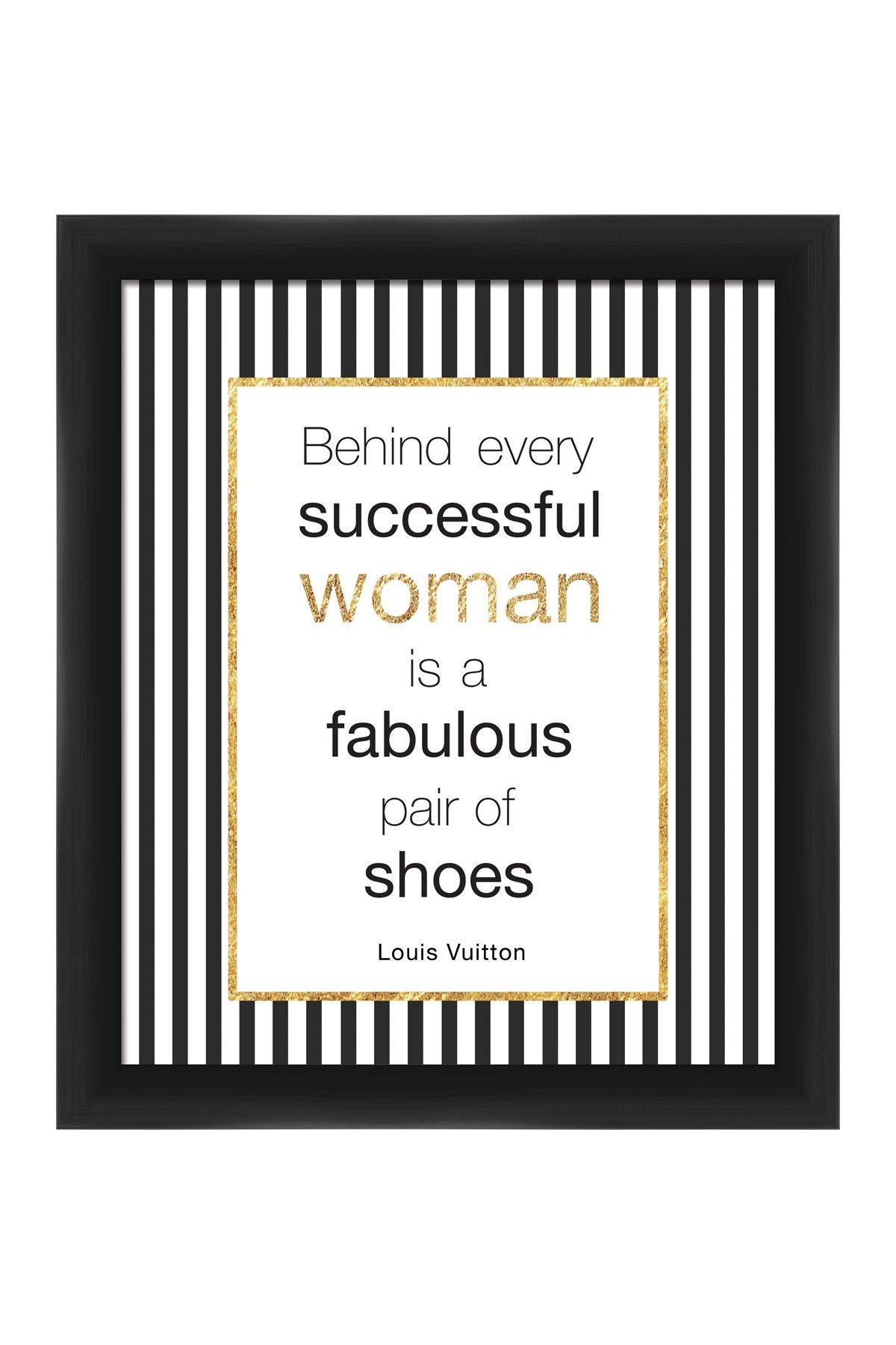 On Hautelook Behind Every Successful Woman Framed Giclee Wall Art Wall Art Quotes Wall Quotes Design Quotes