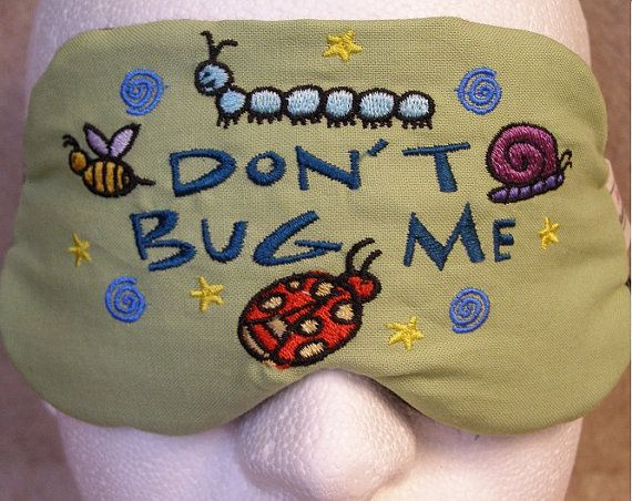718d4778ccf Items similar to Embroidered Eye Mask