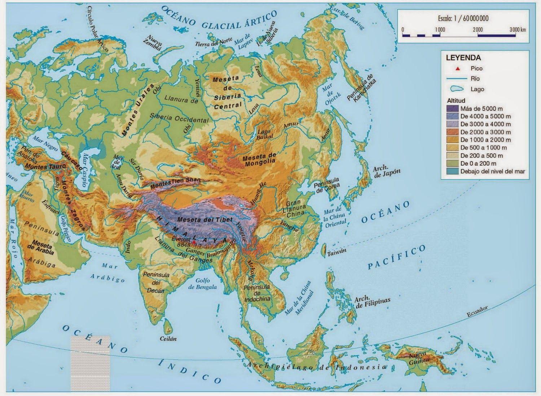 Mapa Fisico De Asia Interactivo.Sign In Mapa De Asia Mapa De Europa Mapas