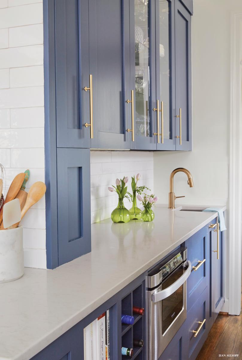 Benjamin Moore Hale Navy. #kitchen #cabinets #modern | Kitchen ...