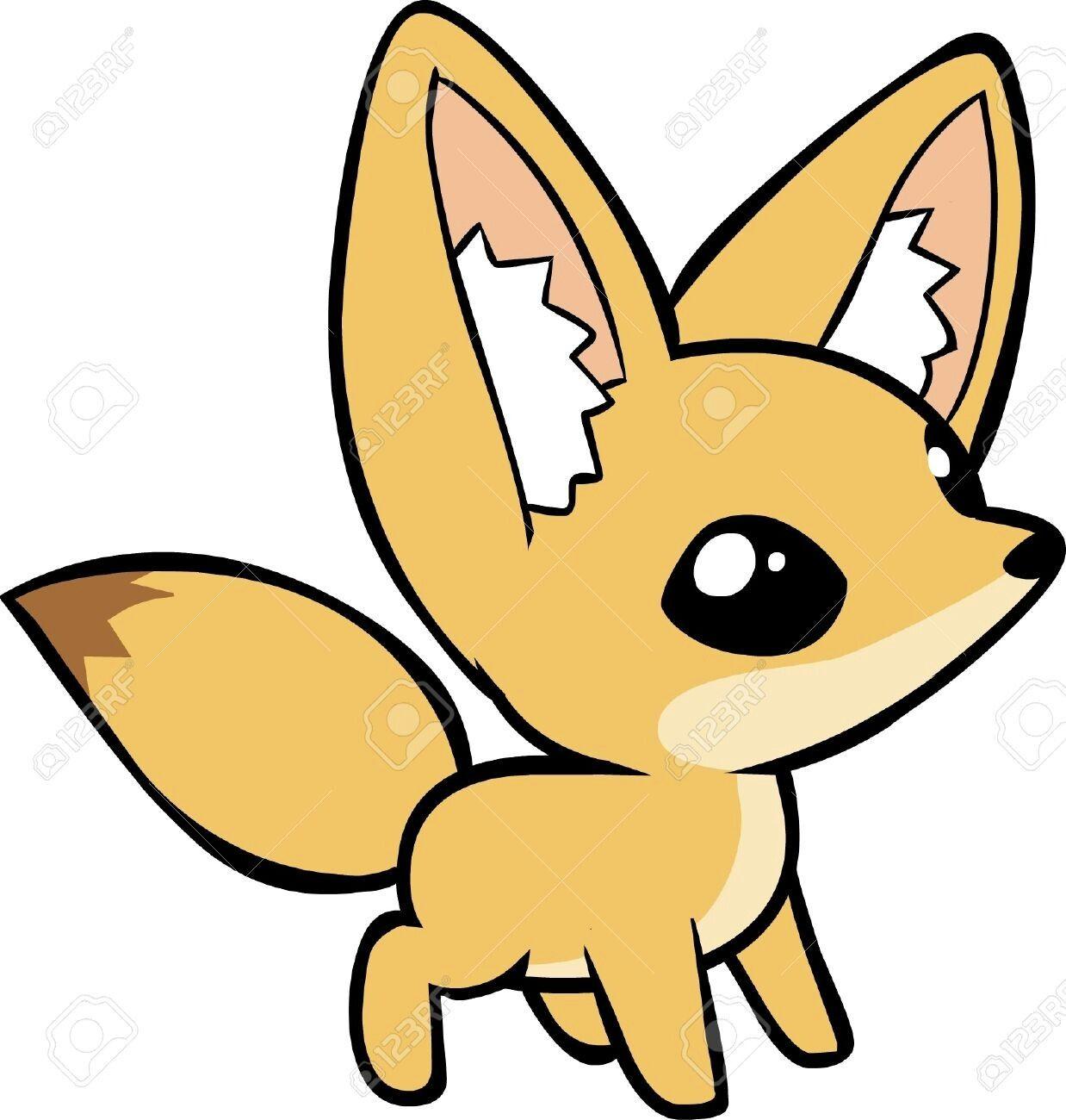Fennec Fox Fox Images Cute Animal Drawings Fennec Fox