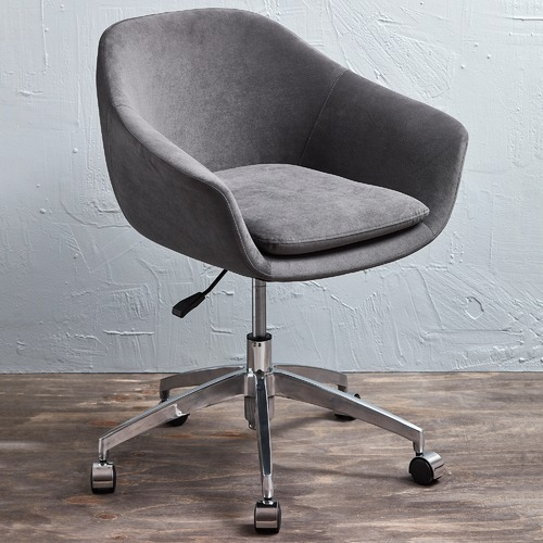 Nori Fabric Modern Office Chair In 2020 Modern Office Chair Office Chair Modern Office