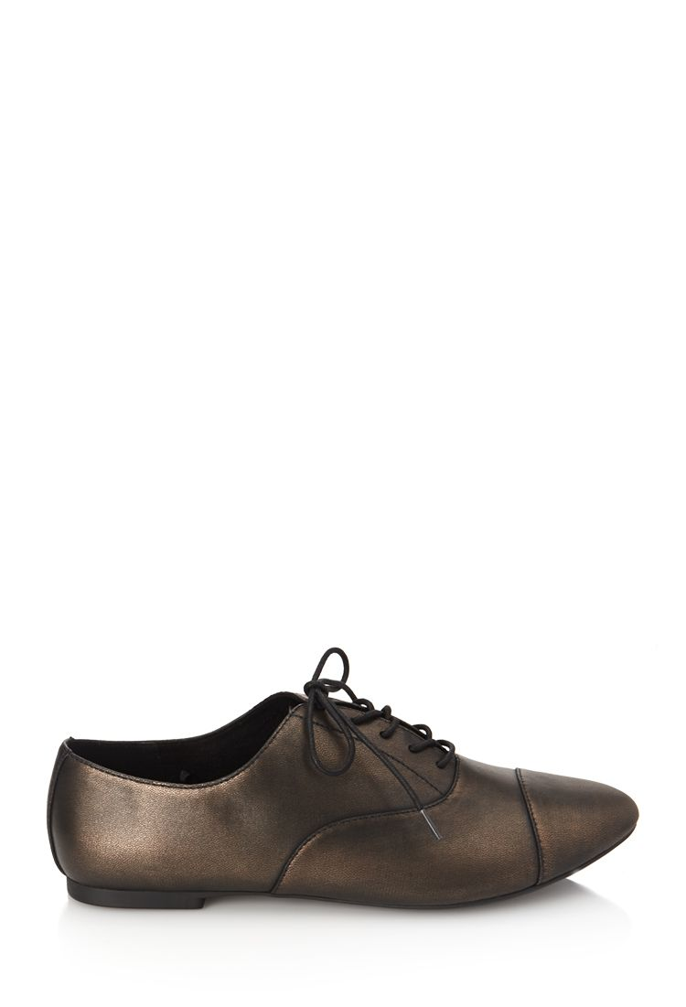 0a349523567 Faux Leather Oxfords