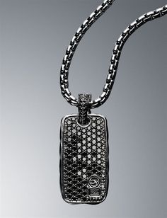 black talon diamond for onyx jewelry pendant lazaro with mens necklace men soho