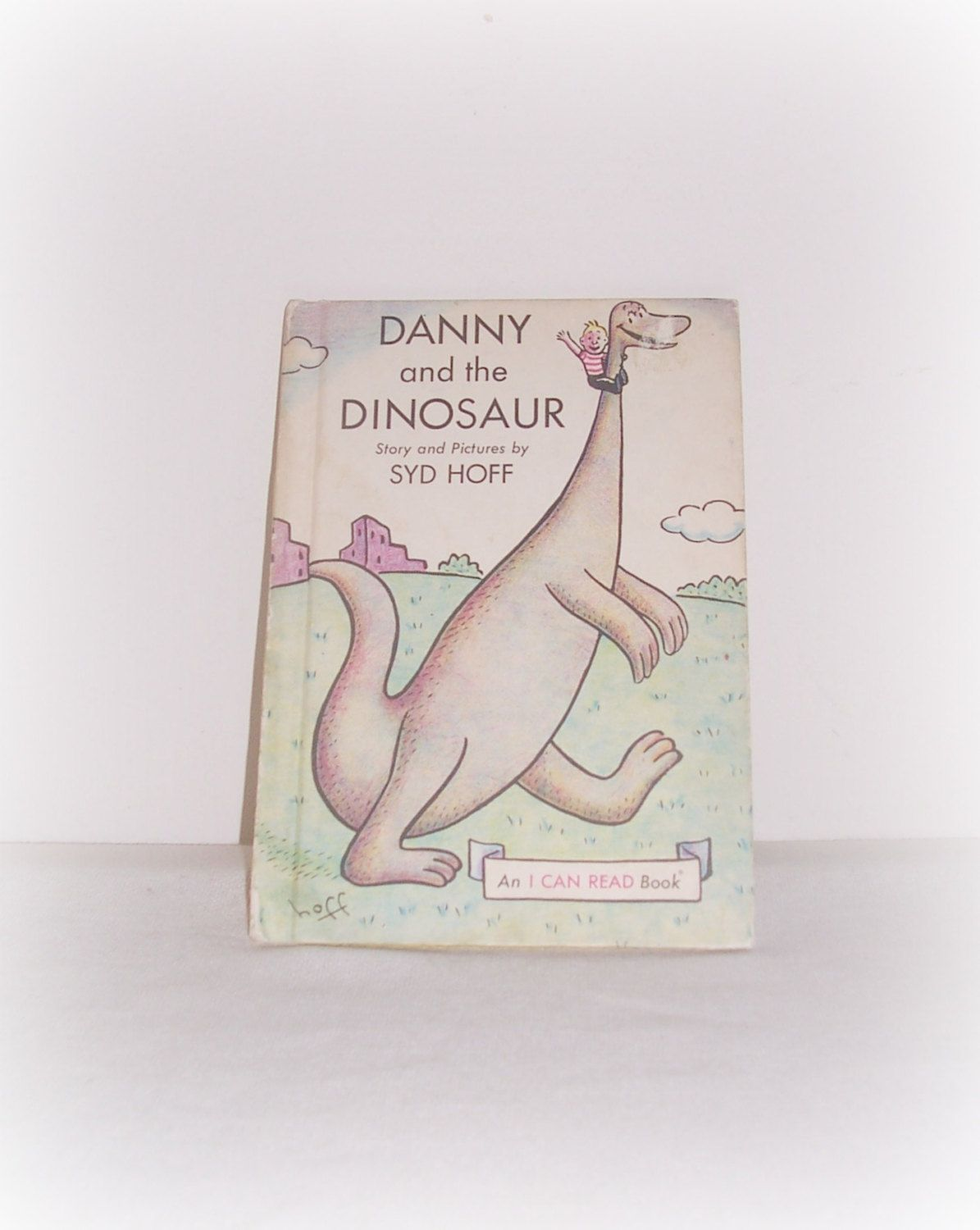 "Vintage Sid Hoff Book ""Danny And The Dinosaur"" Children's ""An I Can Read Book"" Vintage 1958 Book by SheCollectsICreate on Etsy"