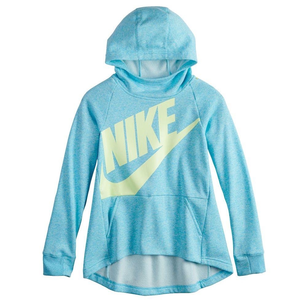 0507eeed2b5e Girls 7-16 Nike Pullover Hoodie Sweatshirt