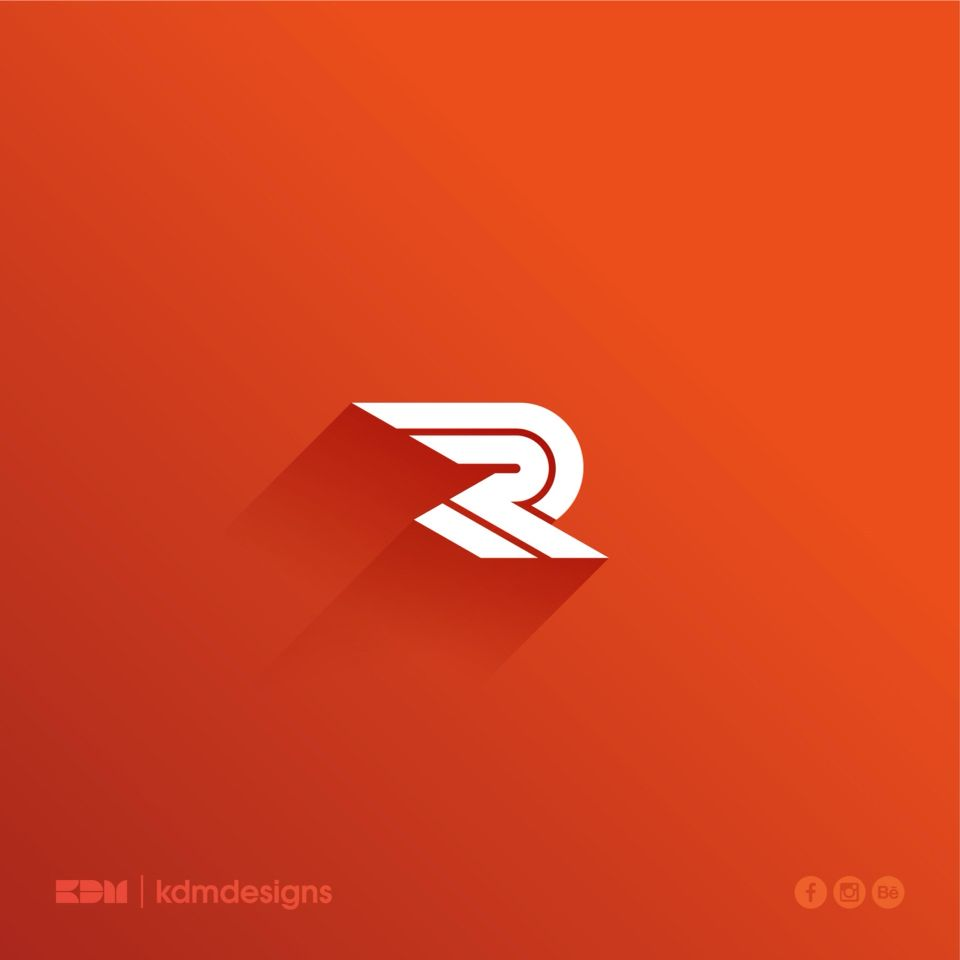 RR Monogram on Behance  55ff5f005