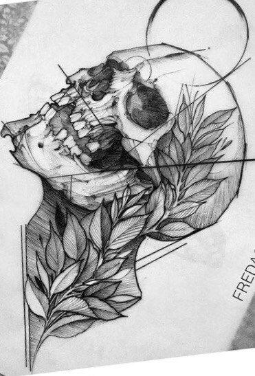 Dibujos Tatuajes Pinterest Arte Craneo Dibujo Y Arte Del Tatuaje