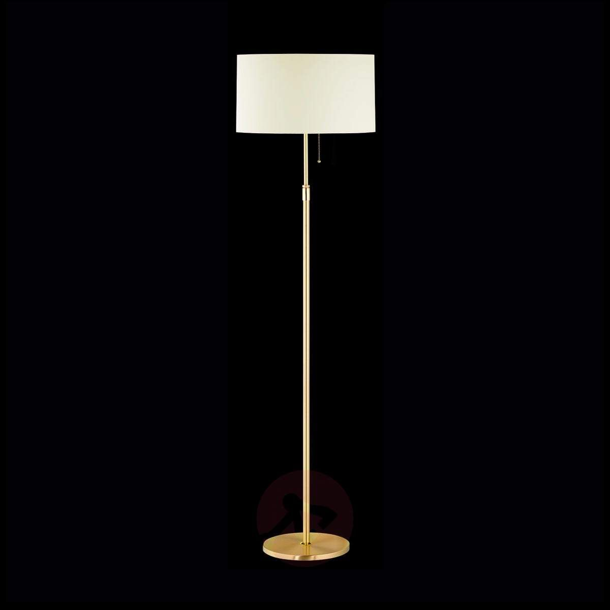 Mosiężna Lampa Stojąca Loop Lampy Stojące W 2019 Lampy