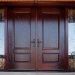 [Door Furniture] Modern Wooden Double Front Doors Design Interior Design Ideas: Design Of Double Exterior Entry Doors Front Double Doors Exterior Door