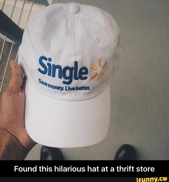 Found this hilarious hat at a thrift store