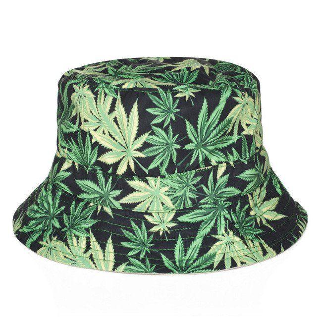 Dank Master Weed Leaf Bucket Hat - Dank Master Hats - weed hat 8cce1e978425