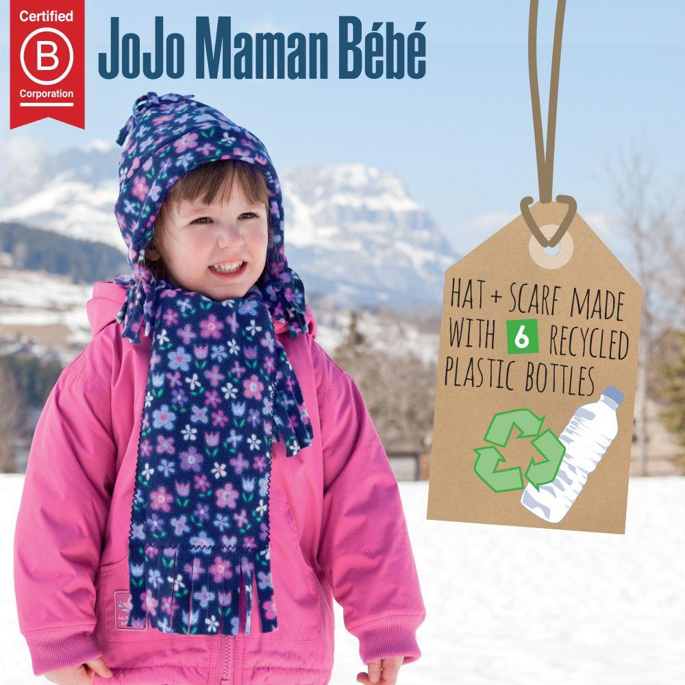 Jojo Maman Bebe Girls Polarfleece Hat Baraclava Baby Accessories