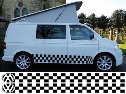 vw t4 t5 caddy transporter schachbrettmuster wohnmobil. Black Bedroom Furniture Sets. Home Design Ideas