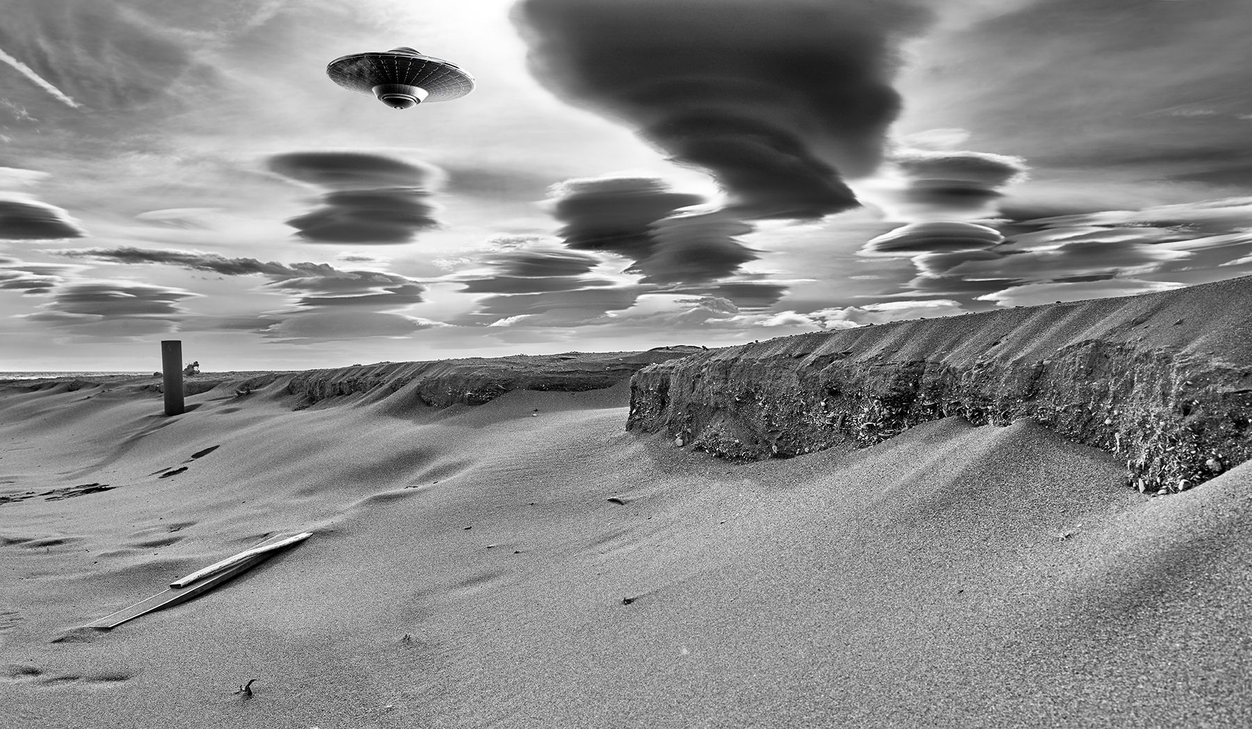 Camuflado en el cielo