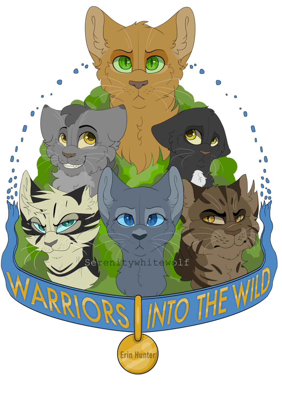 Warriors Into the wild design by serenitywhitewolf
