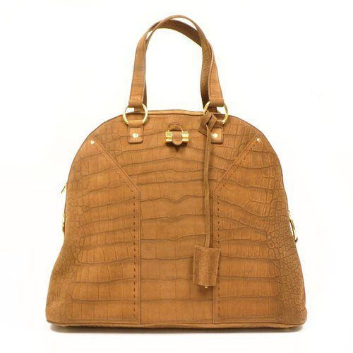 0759266ad0d6 Yves Saint Laurent YSL Oversized Muse Camel Tan Handbag Tote Bag 257435