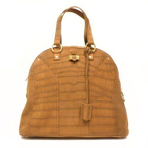 0759266ad0d6 Yves Saint Laurent YSL Oversized Muse Camel Tan Handbag Tote Bag 257435