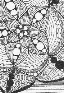 starburst mini coloring page