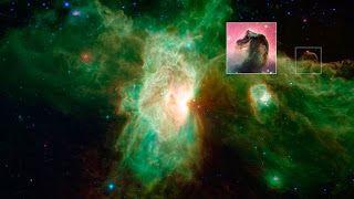 G.A.B.I.E.: La nebulosa Cabeza de Caballo se desdibuja en infr...
