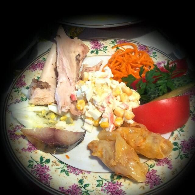 レシピとお料理がひらめくSnapDish - 0件のもぐもぐ - some of unhealthy food of this day :( by Marina Hancu