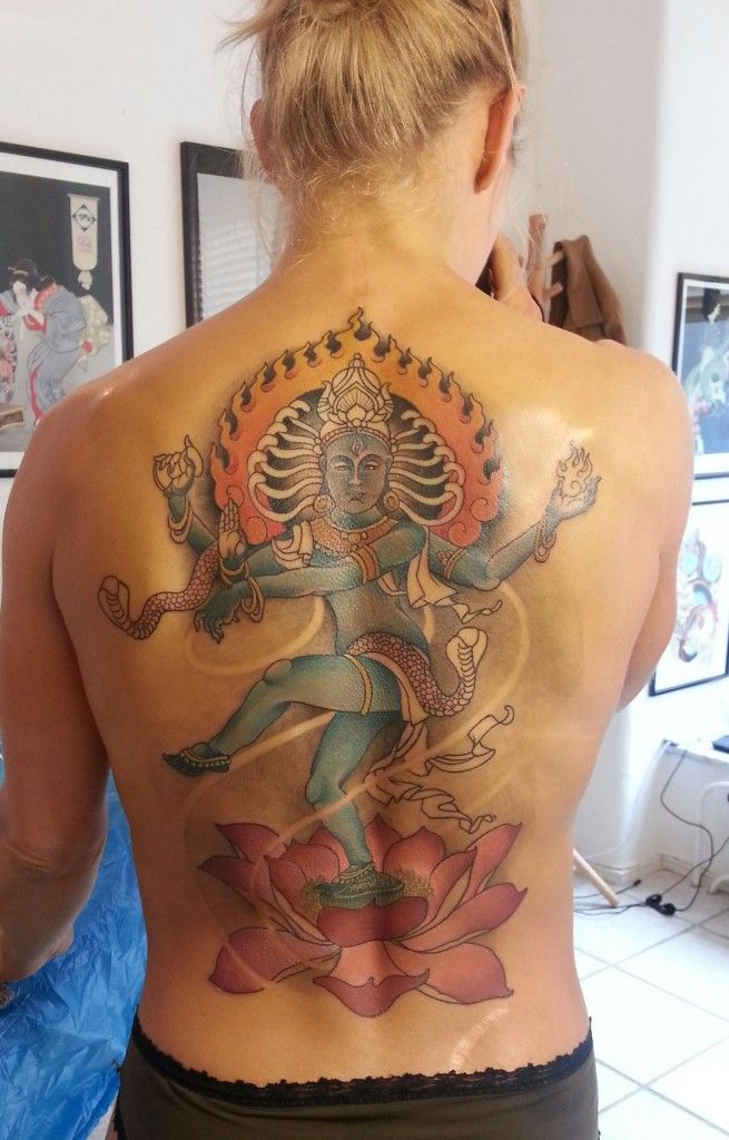 6 hours later.. MY Shiva Nataraj dances the cosmic dance ...