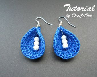 Tatting Earrings Tutorial Do It Yourself Make Your Own
