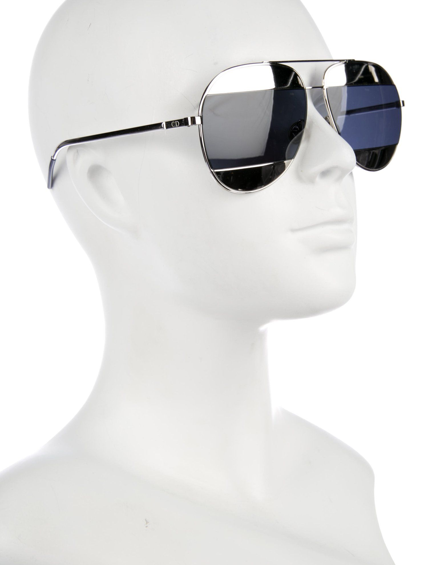 76878be6d5a7 Christian Dior Split 1 Mirrored Sunglasses - Accessories - CHR83597 | The  RealReal