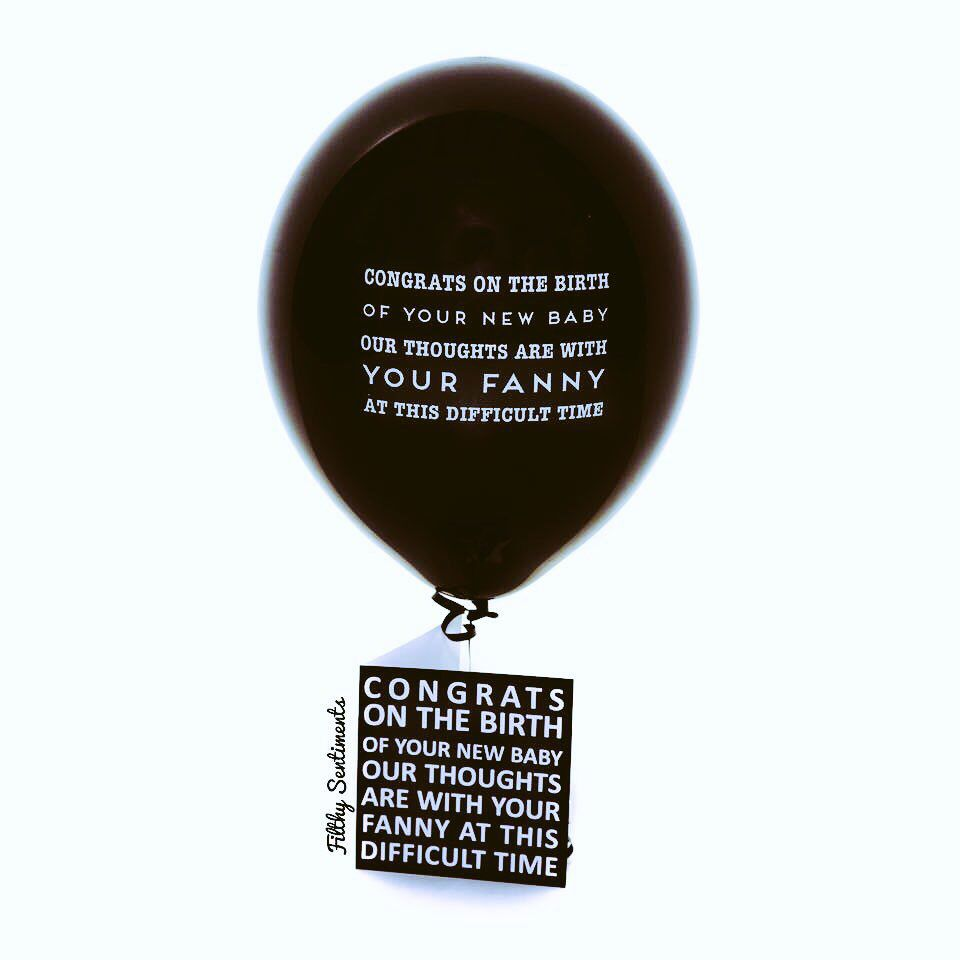 Cards Gifts Balloons All Things Profanity Cheeky Funny Check Out Www Filthysentiments Co Uk Party Ball Filthy Sentiments Abusive Balloons Sentimental