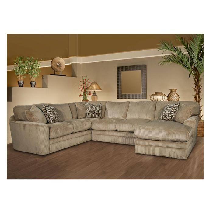 Palms 3 Piece Sectional In Memphis Toast   Nebraska Furniture Mart