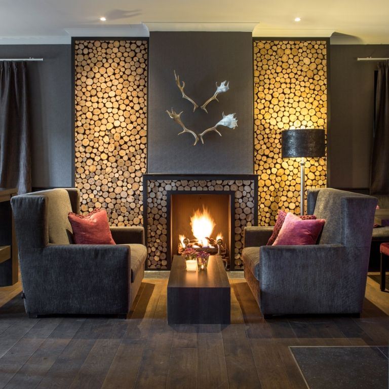 Van der Valk Hotel Gilze-Rijen | Home fireplace, Rustic home design, Home  decor hacks