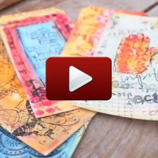 """Peruse our free """"stamping and card making"""" videos http://stampington.com/the-studio/the-studio-how-to-videos/stamping-and-card-making-videos"""