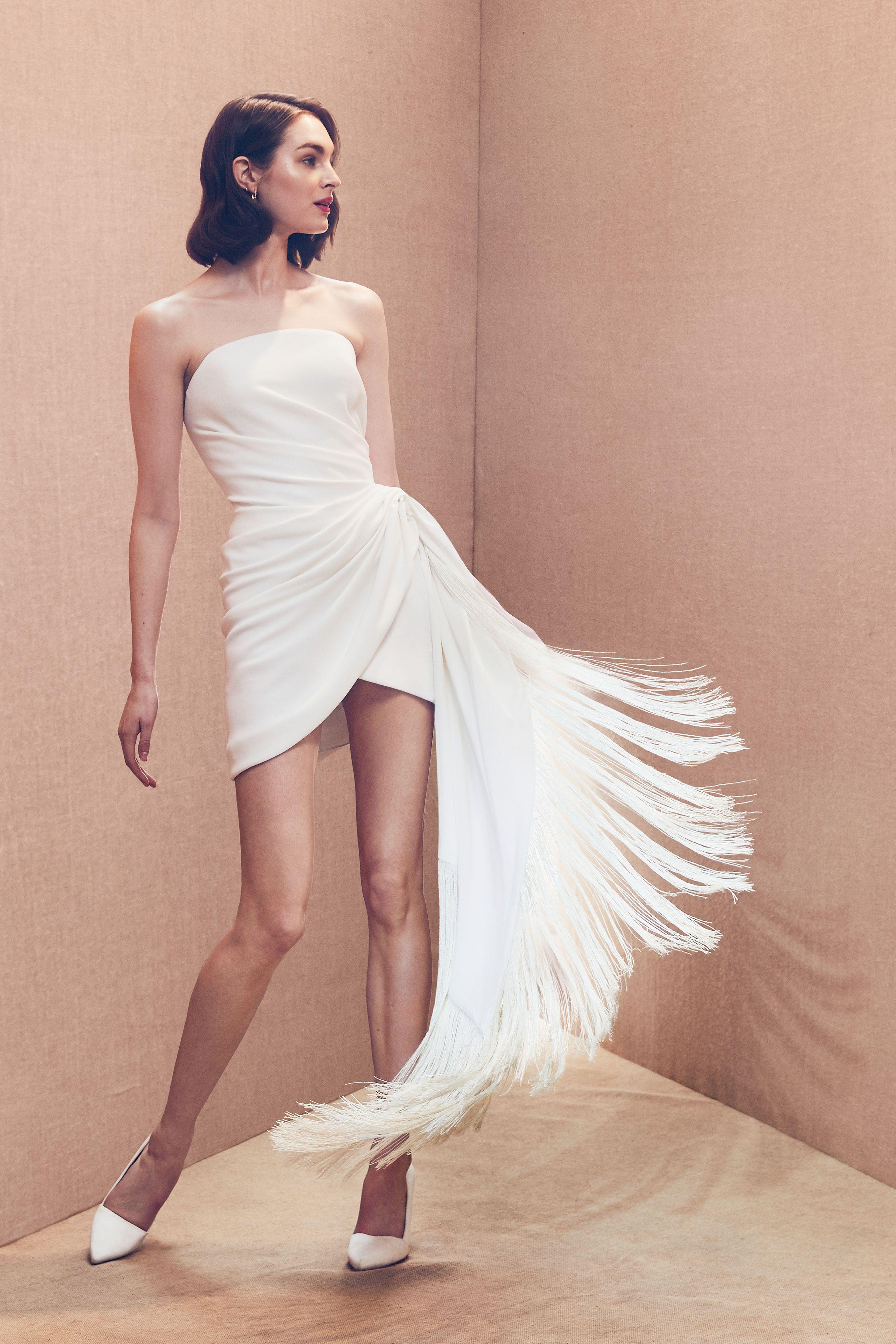 Chic Short Wedding Dresses Bridal Fashion Week Wedding Dress