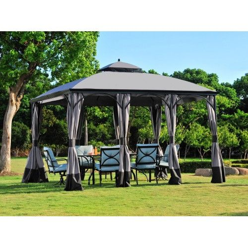 Sunjoy Big Lots 10 X 12 Somerset Gazebo Replacement Canopy Fabric Gazebo Replacement Canopy Gazebo Replacement Canopy