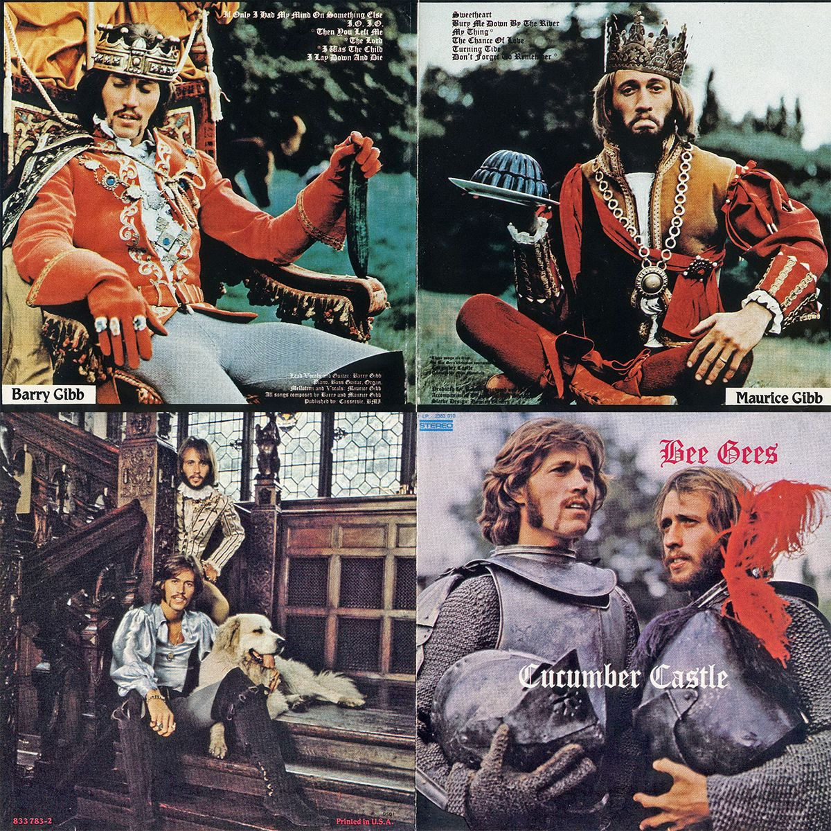 1970 Cucumber Castle Booklet Bee Gees Bee Gees