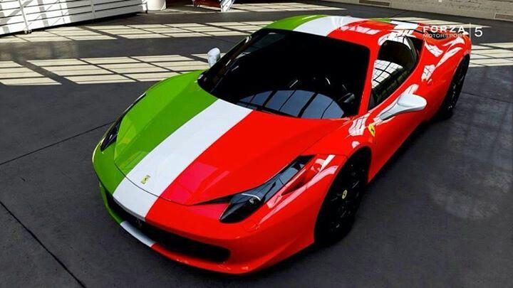 Italian Flag Ferrari Ferrari Sports Cars Mustang Italian Flag