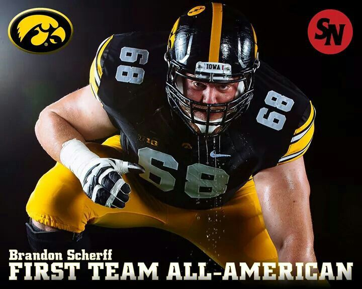 Brandon Scherff Iowa Hawkeyes Iowa hawkeye football