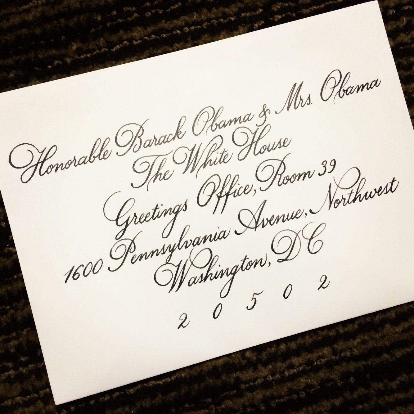 Wedding Invitation Headed To The White House Denverdesignstudio