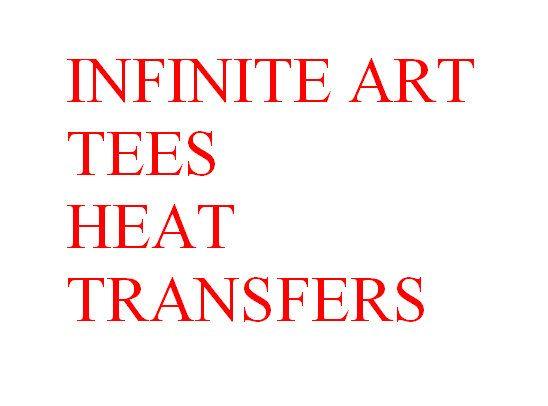 NOW OFFERING ORIGINAL Infinite Art Tees Heat by InfiniteAr