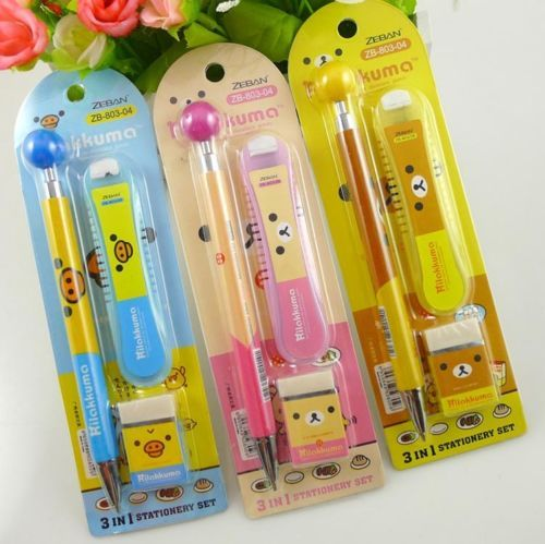 Buy 3 Get 1 Free Pencil and Eraser Set