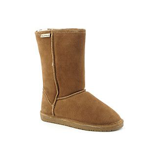 Bearpaw Boots off amazon. Size 7 tan. Better than uggs or emu. And cheaper. Love the solid rubber tread as my emus had foam covered in rubber that are now ...