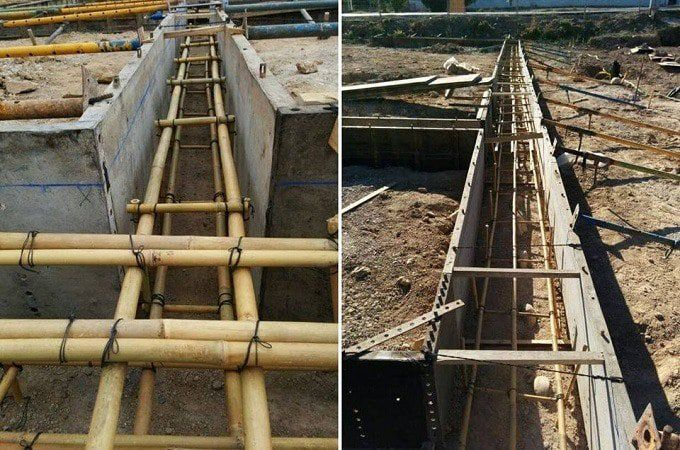 Bamboo Reinforced Concrete Mix Proportion Design