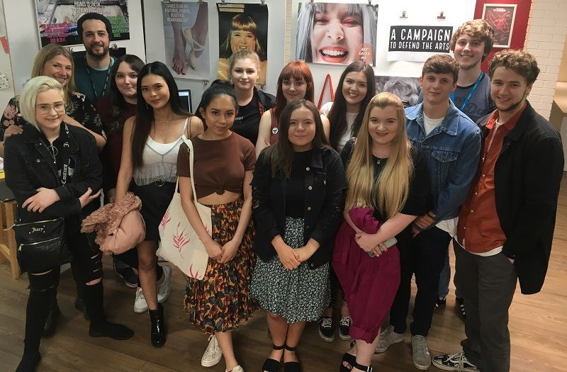 Furness Students Stand Up For The Arts