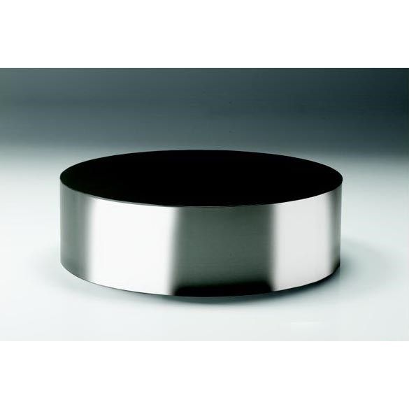 Mobital Sphere Coffee Tb Round Table In Polished Stainless Steel