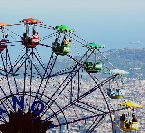 BARCELONA CON NIÑOS.- Es una de las ciudades más adecuadas para viajar con pequeños.